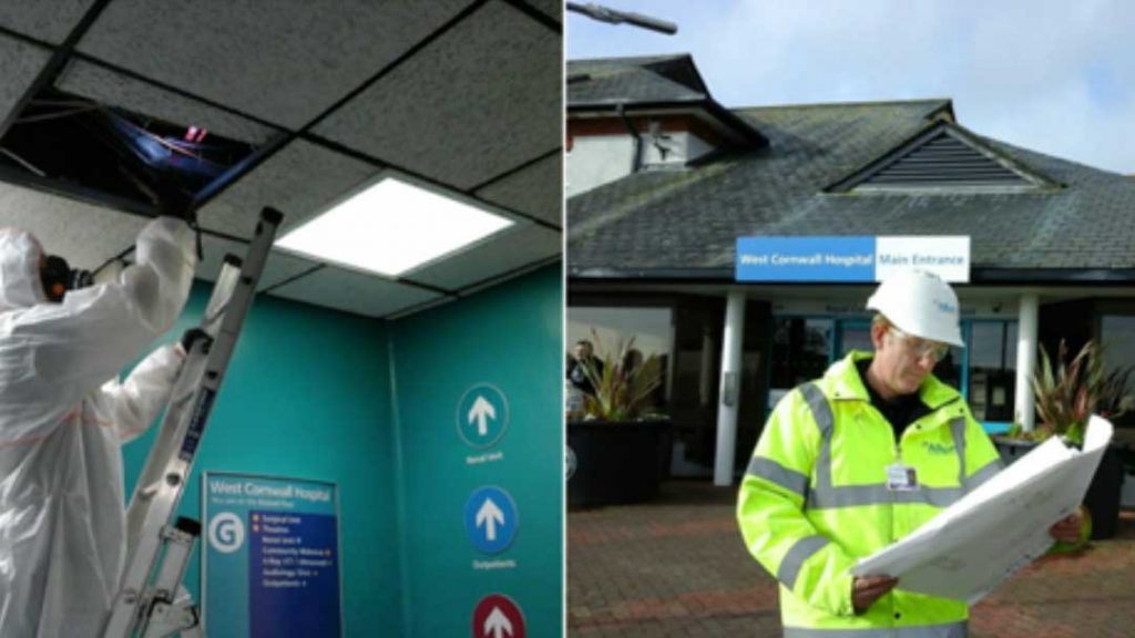 West Cornwall Hospital Asbestos survey
