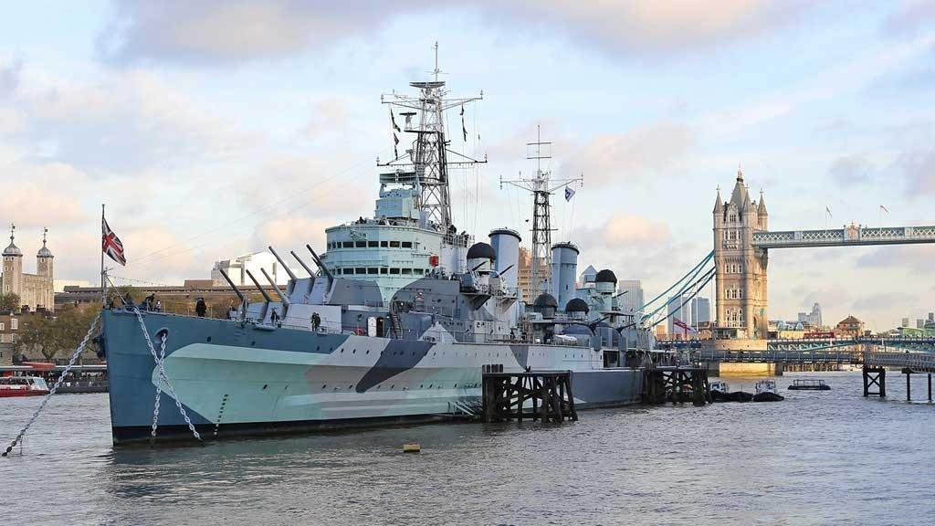 HMS Belfast - Asbestos Survey Case Study