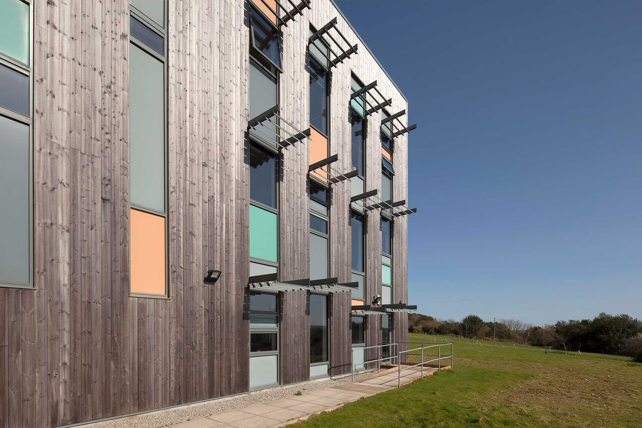 Allium Environmental's head office in Cornwall