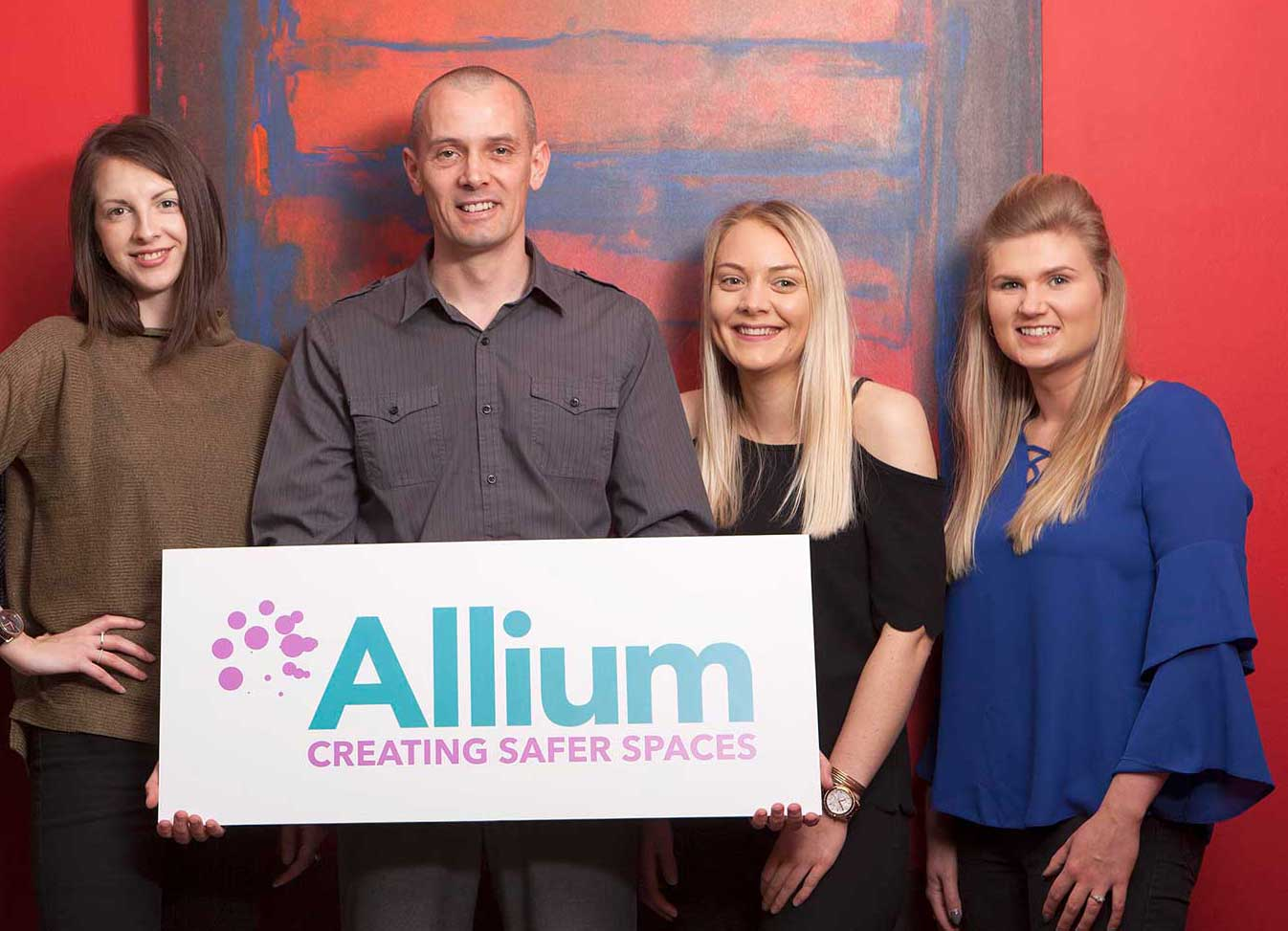 Members of the Allium team who work in Cornwall, Bristol, and Southampton