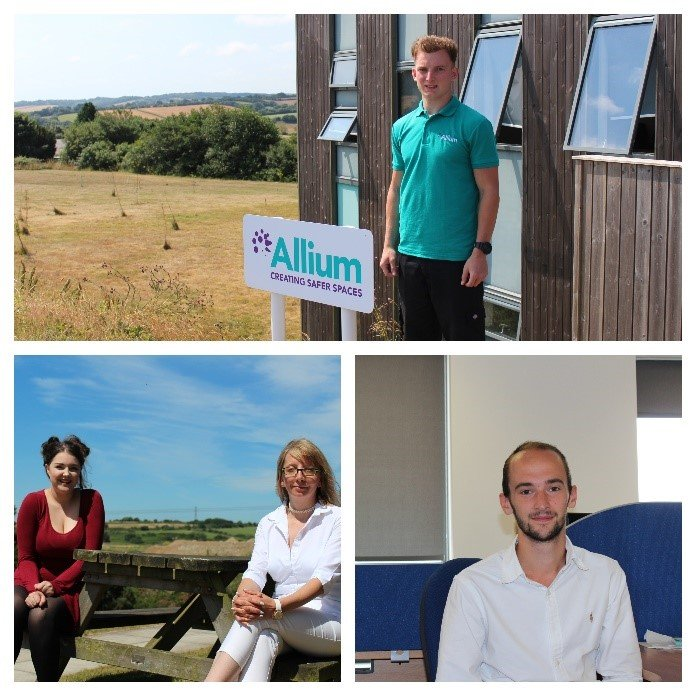 New members of the Allium Asbestos team
