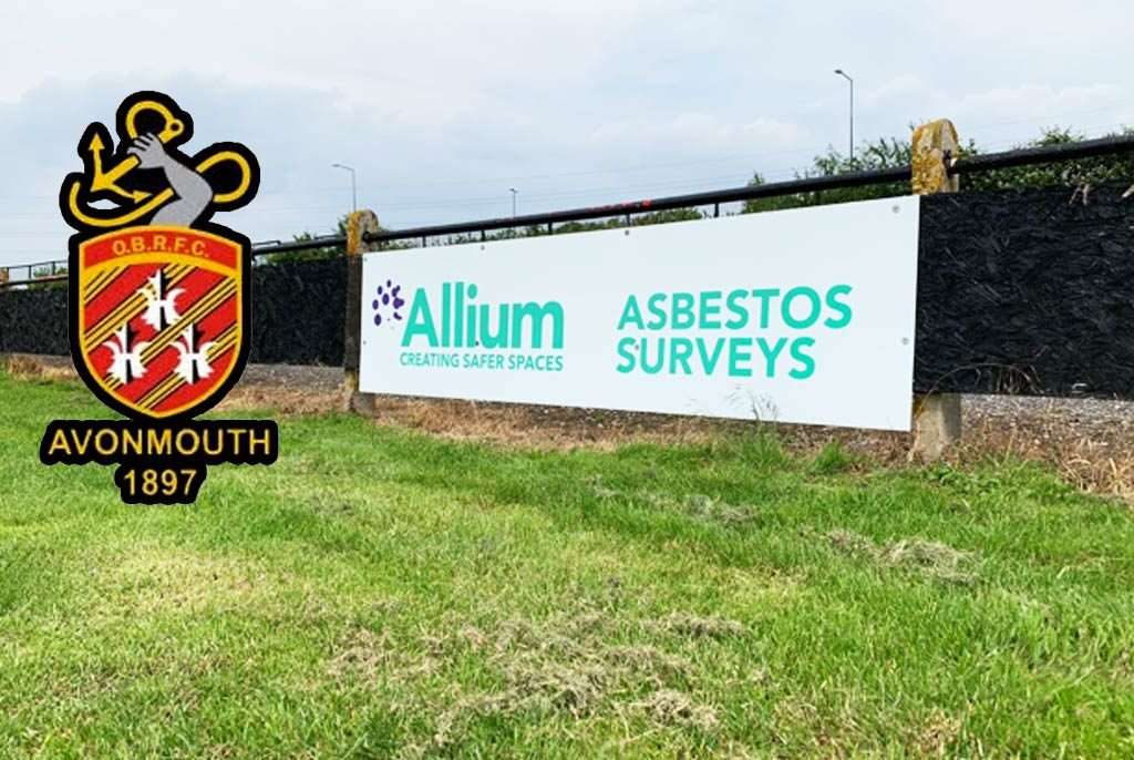 Avonmouth OBRFC Sponsorship - Allium Environmental
