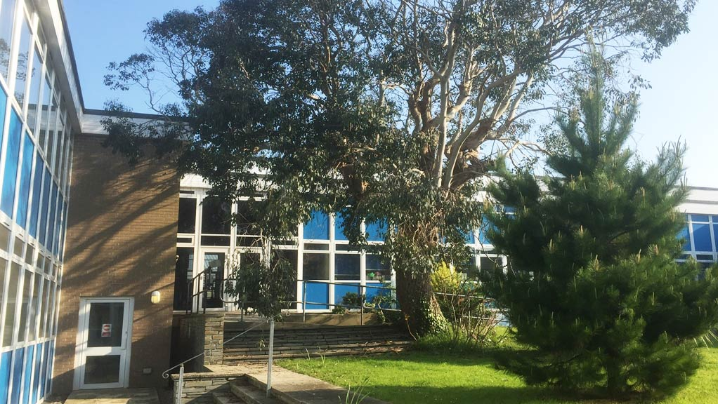 Asbestos survey case study image of Treviglas Academy in Newquay, Cornwall