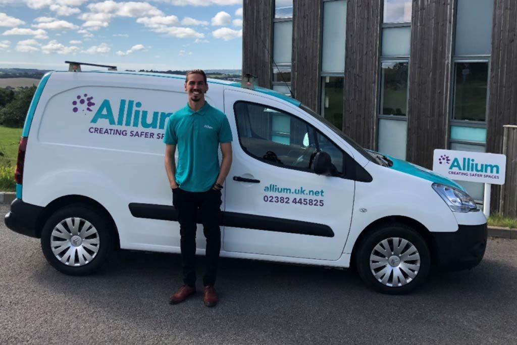 Allium's latest asbestos surveyor in Southampton