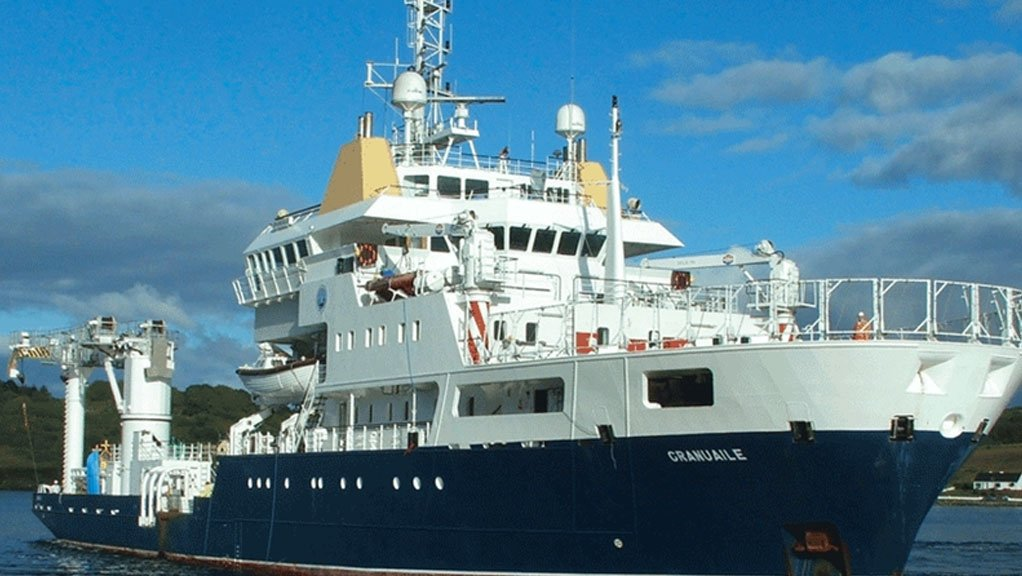 IHM Survey on board ILV Granuaile in Ireland