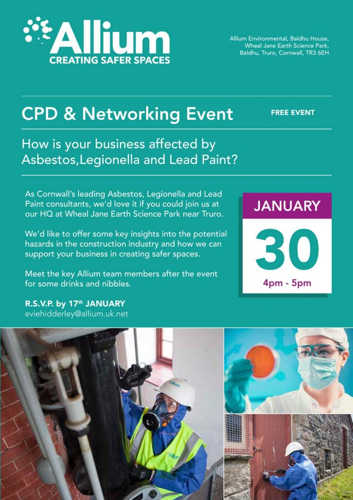CPD and Networking Event - Allium Environmental