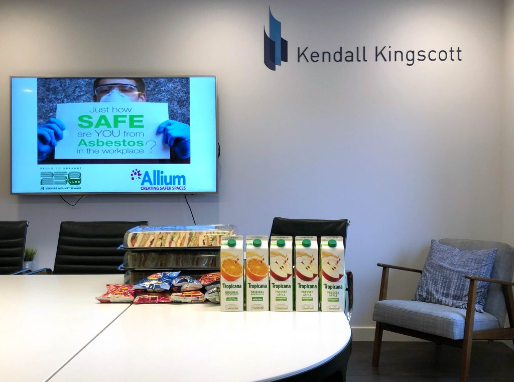 Kendall Kingscott CPD event for asbestos training