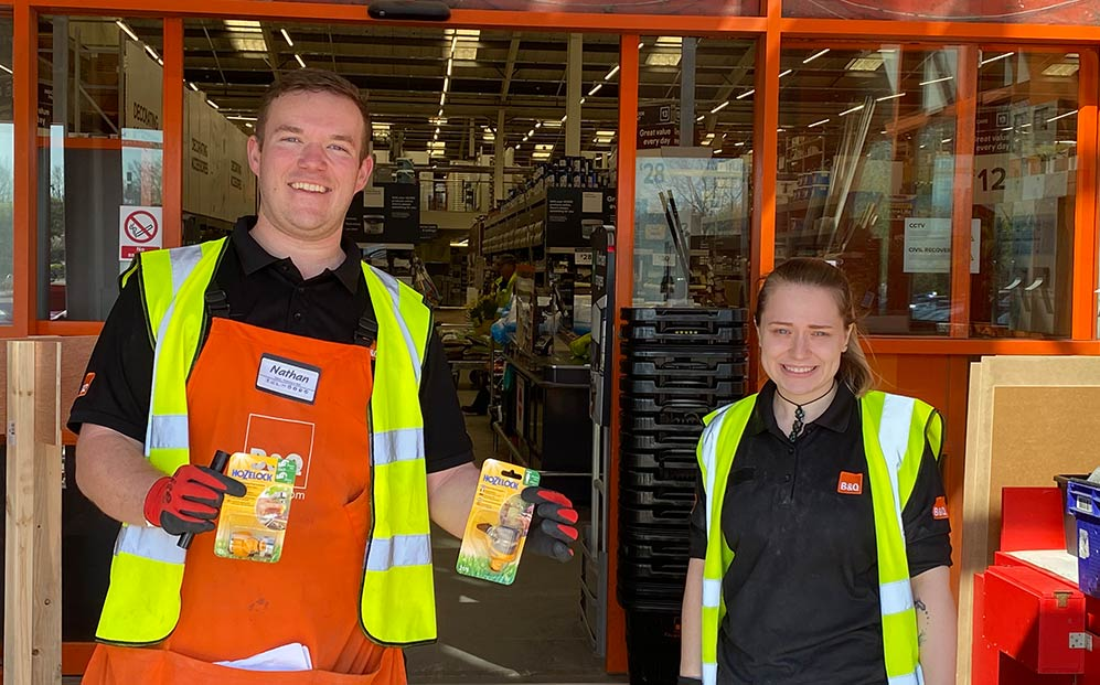 B&Q Donation to NHS with Allium in Southampton - Coronavirus Cleaning Service