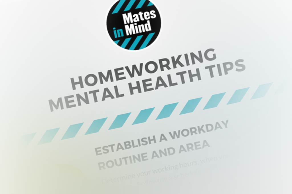 Home working mental health tips
